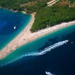 Chorvatsko fotky pláží