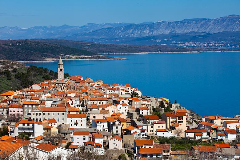 Vrbnik, ostrov Krk, Chorvatsko